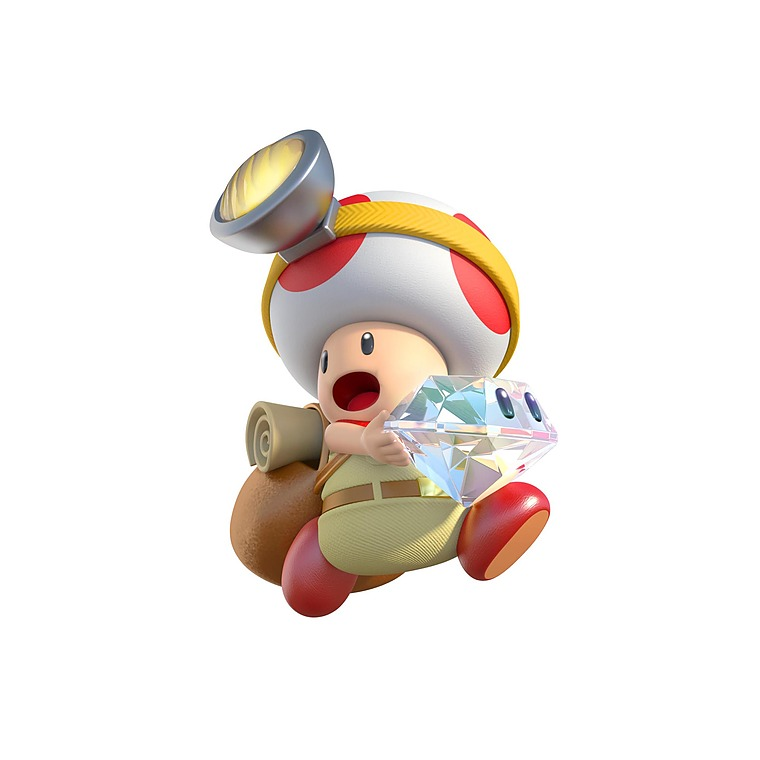 Captain Toad Makes A Cameo In Super Mario Odyssey