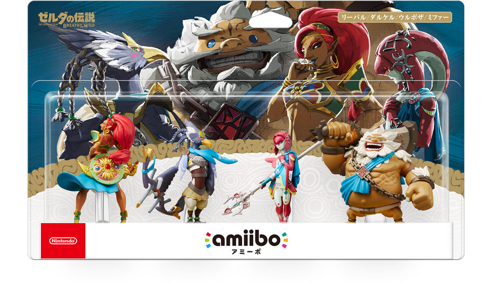 Breath Of The Wild Champions amiibo Could Be Receiving A Reprint