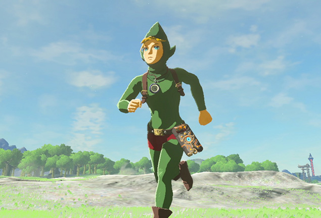Tingle S Outfit Has A Special Ability In Zelda Breath Of