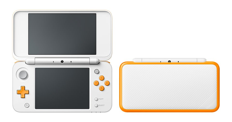 pokeball style orange and white new nintendo ds xl launcheing in north america neogaf. Black Bedroom Furniture Sets. Home Design Ideas