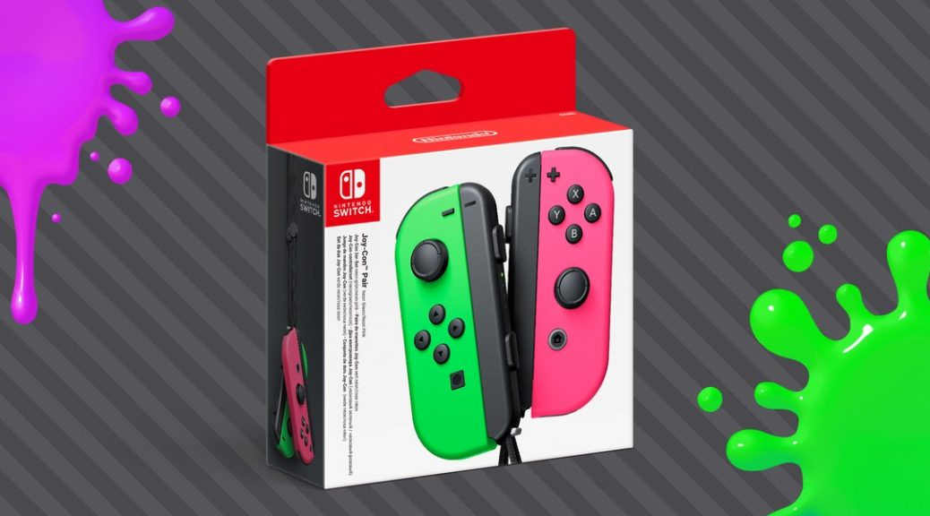Neon Green/Neon Pink Joy-Con Back In Stock On Amazon