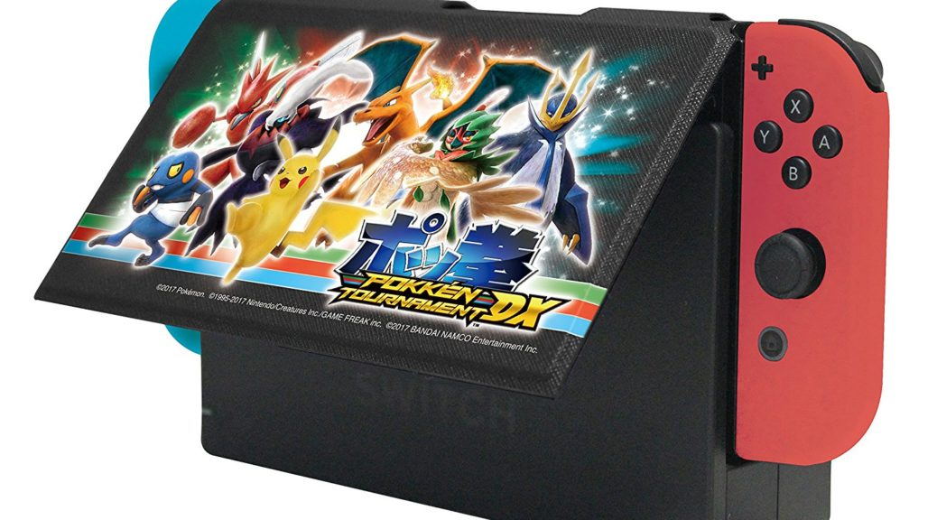 have a first look at pokken tournament dx s accessories for nintendo