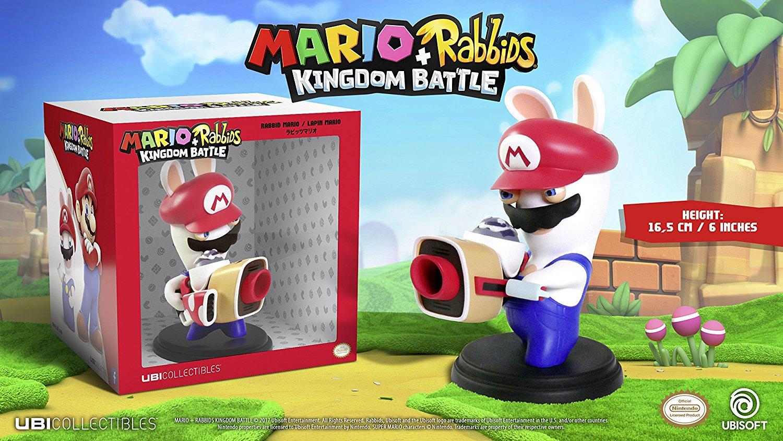 """Mario /& Rabbids Kingdom Battle Rabbid Luigi 6/"""" Figure"""
