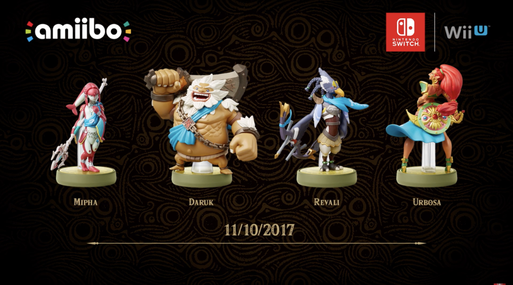 Legend of Zelda:BoTW Champions amiibo Release Dates Unveiled