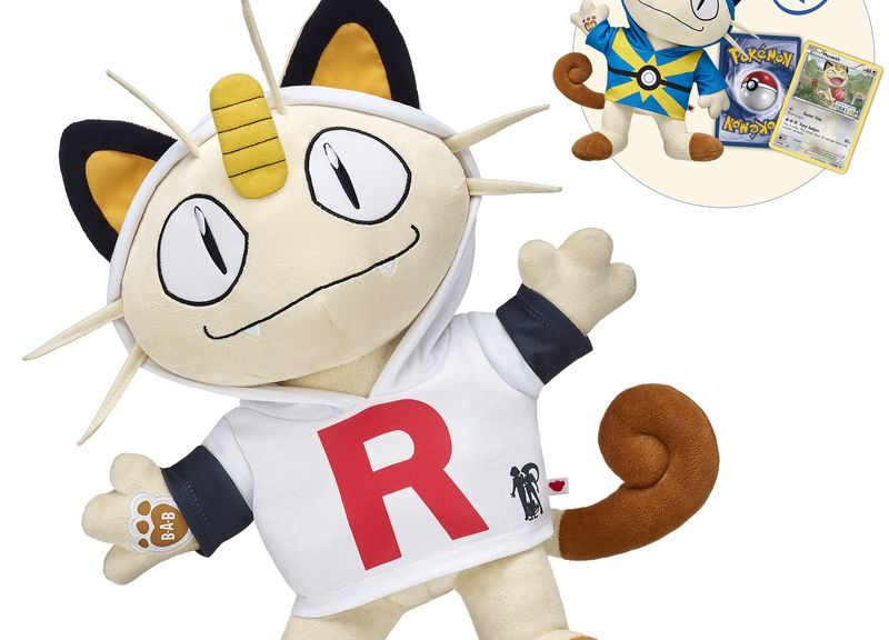 7ea2224520f Meowth Is Build-A-Bear Workshop s Latest Pokemon Plush