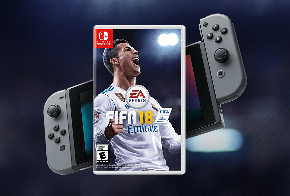 you can wear a nintendo switch home kit in fifa 18 nintendosoup. Black Bedroom Furniture Sets. Home Design Ideas