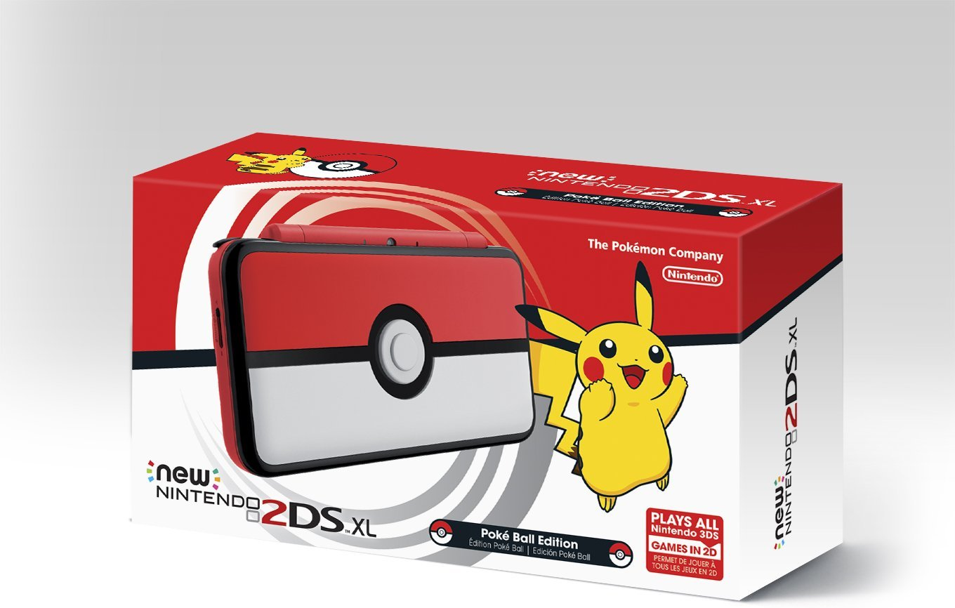 The Poke Ball New 2ds Xl Has A Working Button Nintendosoup Hori Steel Case 3ds Ll Silver