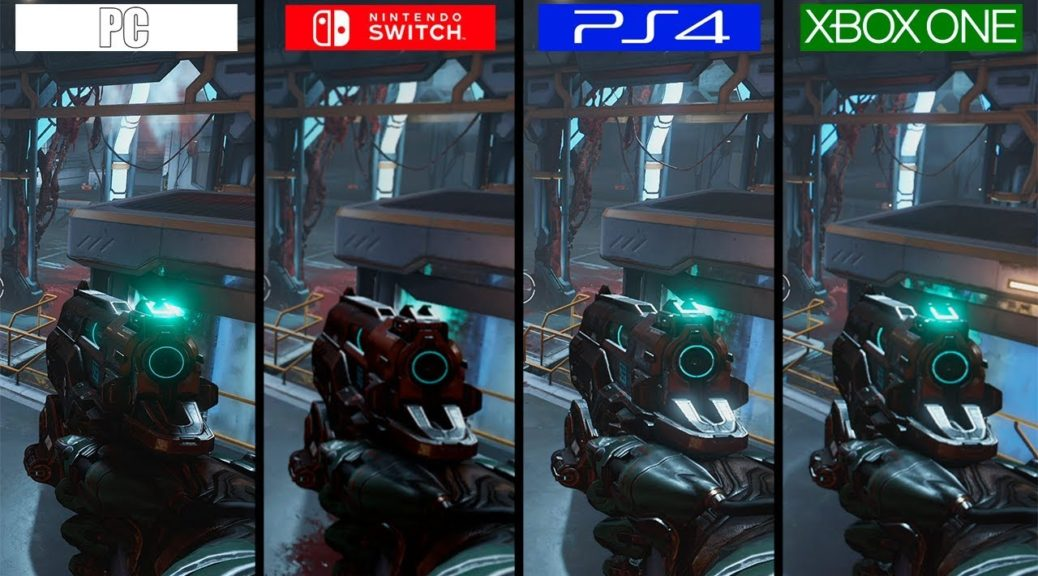 Here's A Graphics Comparison Of DOOM On Switch And Other Consoles | NintendoSoup