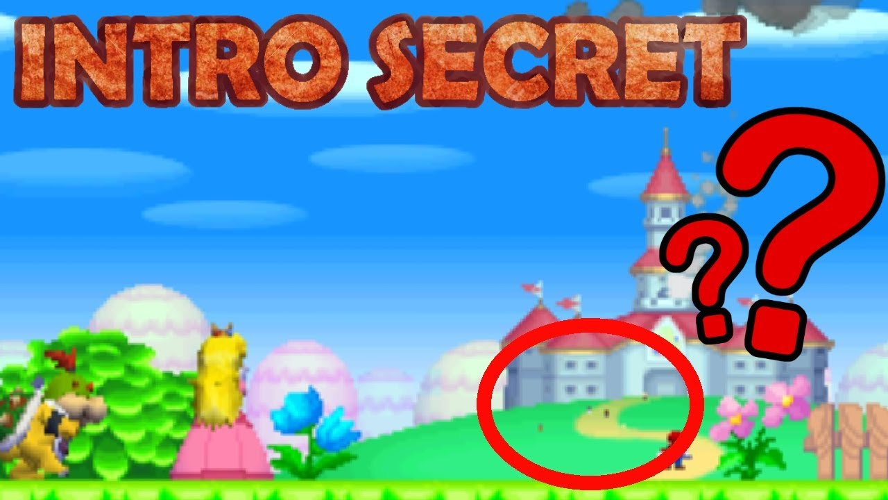 New Super Mario Bros.\' Intro Secret Has Been Unearthed | NintendoSoup