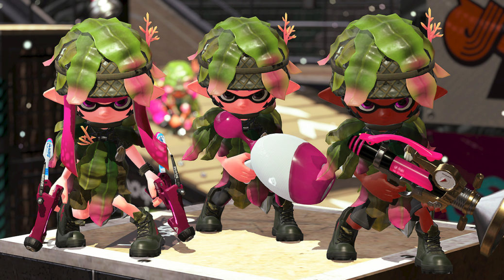 Splatoon 2 Developers Wants Players To Try Out Different Weapons