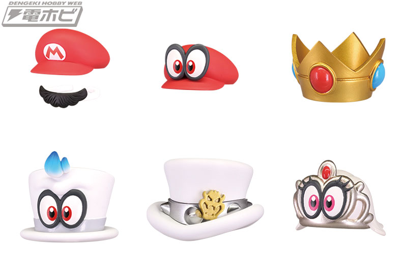 Check Out The Super Mario Odyssey Bottle Cap Collection