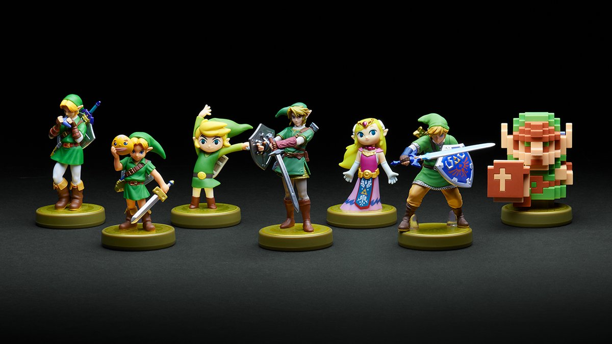 All Legend Of Zelda amiibo To Be Reprinted In Japan This November