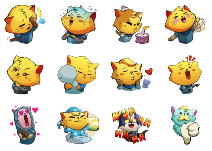 A New Bunch Of Cat Quest Stickers Are Out On LINE | NintendoSoup