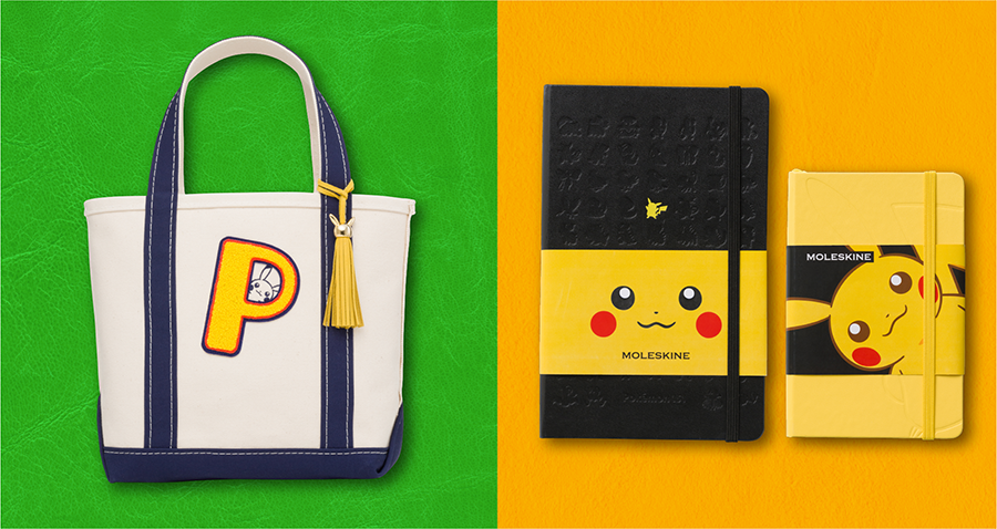 Official Pokemon Moleskine Products Heading To Japan This