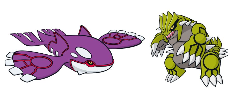Get Your Shiny Groudon And Shiny Kyogre From Amazon Japan ... Pokemon Shiny Kyogre