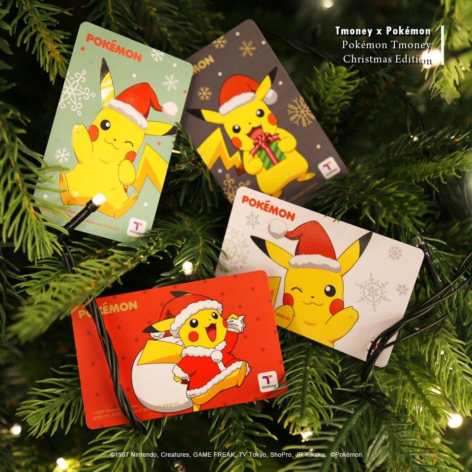 Pokemon Christmas T-Money Cards Out In South Korea | NintendoSoup