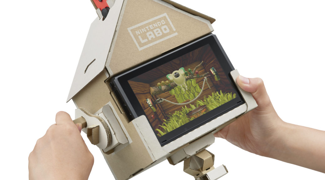 Spooky Secrets Discovered In Nintendo Labo S Toy Con House