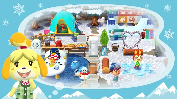New Winter Event Starts Tomorrow In Animal Crossing: Pocket