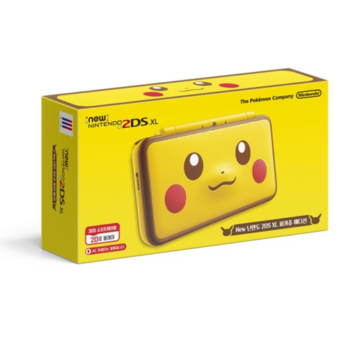 New 2ds Xl Pikachu Edition Arriving In Korea On February 8