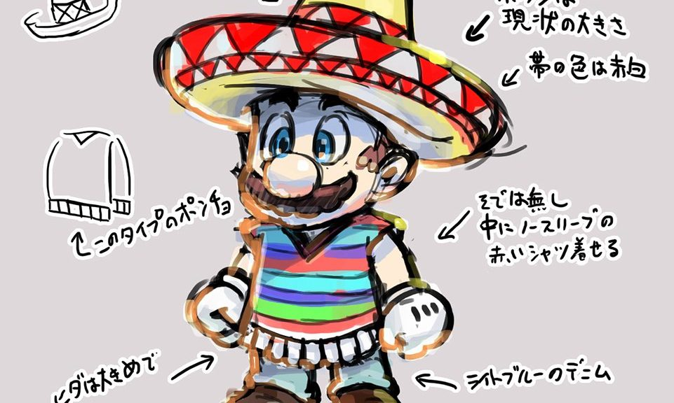 here s more concept art from super mario odyssey s sand kingdom
