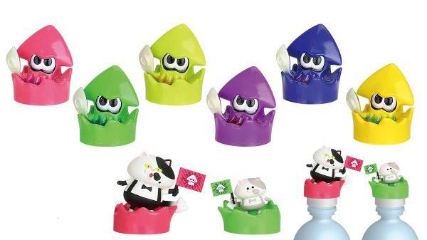 a12a179febfdb Splatoon 2 Spash Cap Capsule Toys Coming To Japan