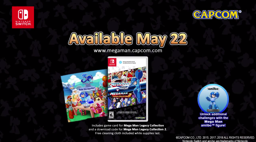 Some Copies Of Mega Man Legacy Collection 1+2 Are Missing