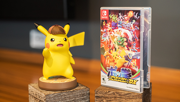 Here S A Size Comparison Of Detective Pikachu Amiibo With