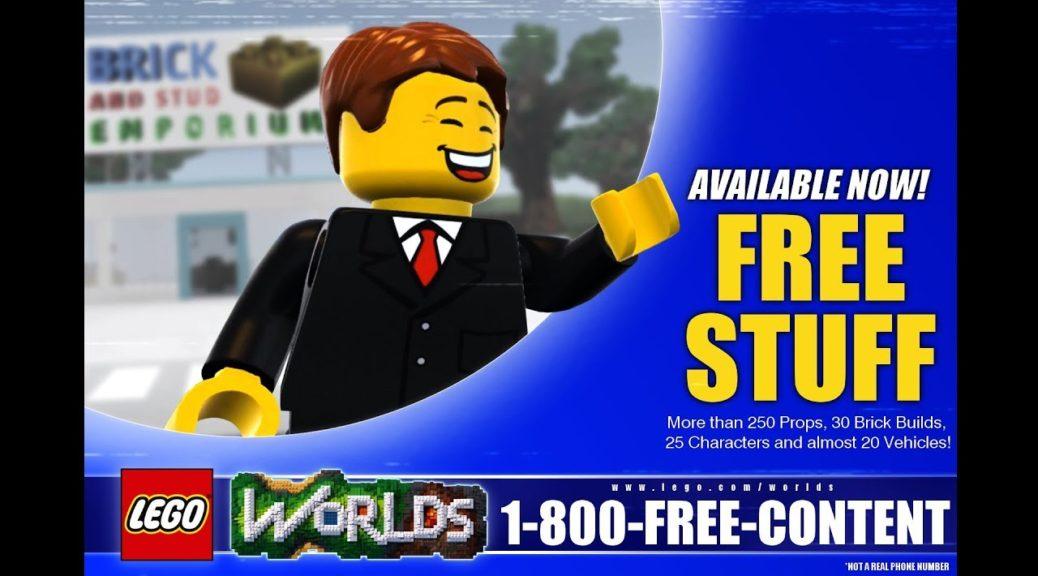 Lego Worlds Builds Showcase