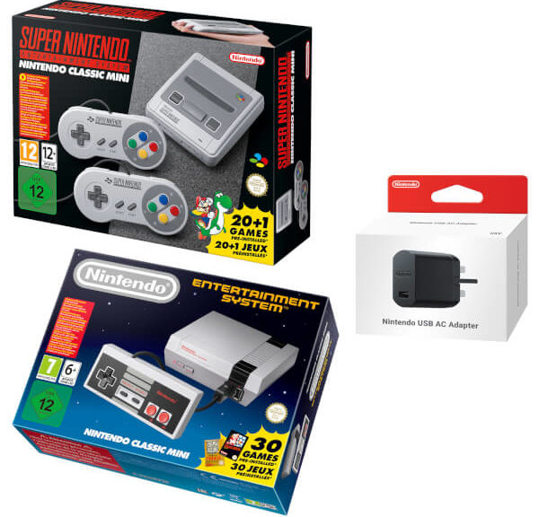 SNES And NES Classic Edition Double Pack Up On Nintendo UK Store