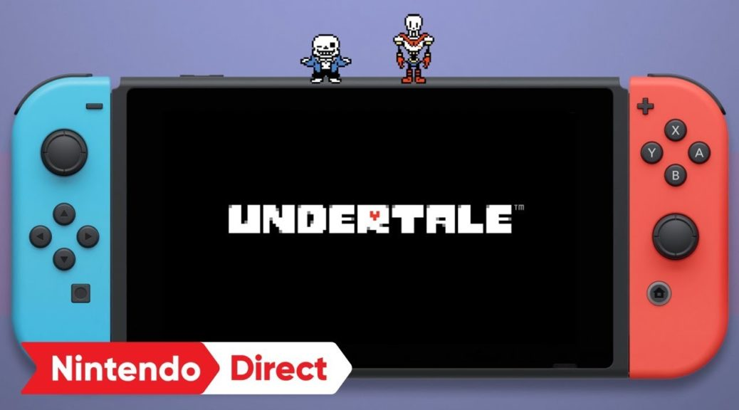 UNDERTALE Announced For Nintendo Switch In Japan   NintendoSoup