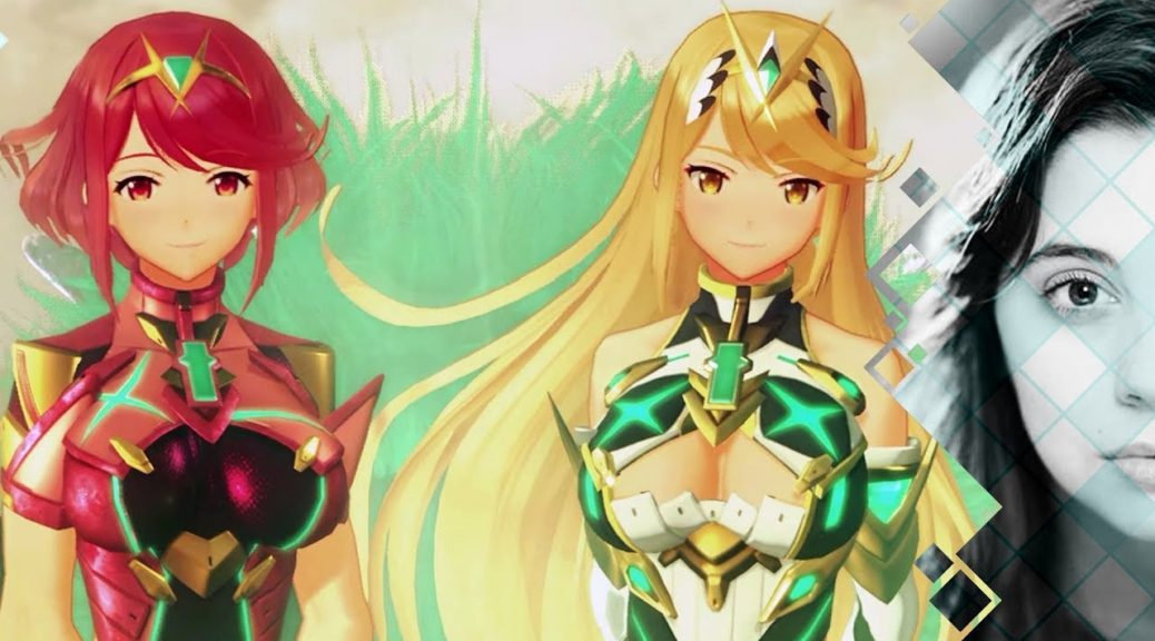 meet the voice of xenoblade chronicles 2 s pyra and mythra