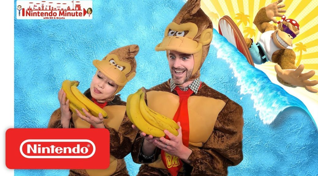 Nintendo Minute Does A Funky Kong Speed Run In Donkey Kong ...