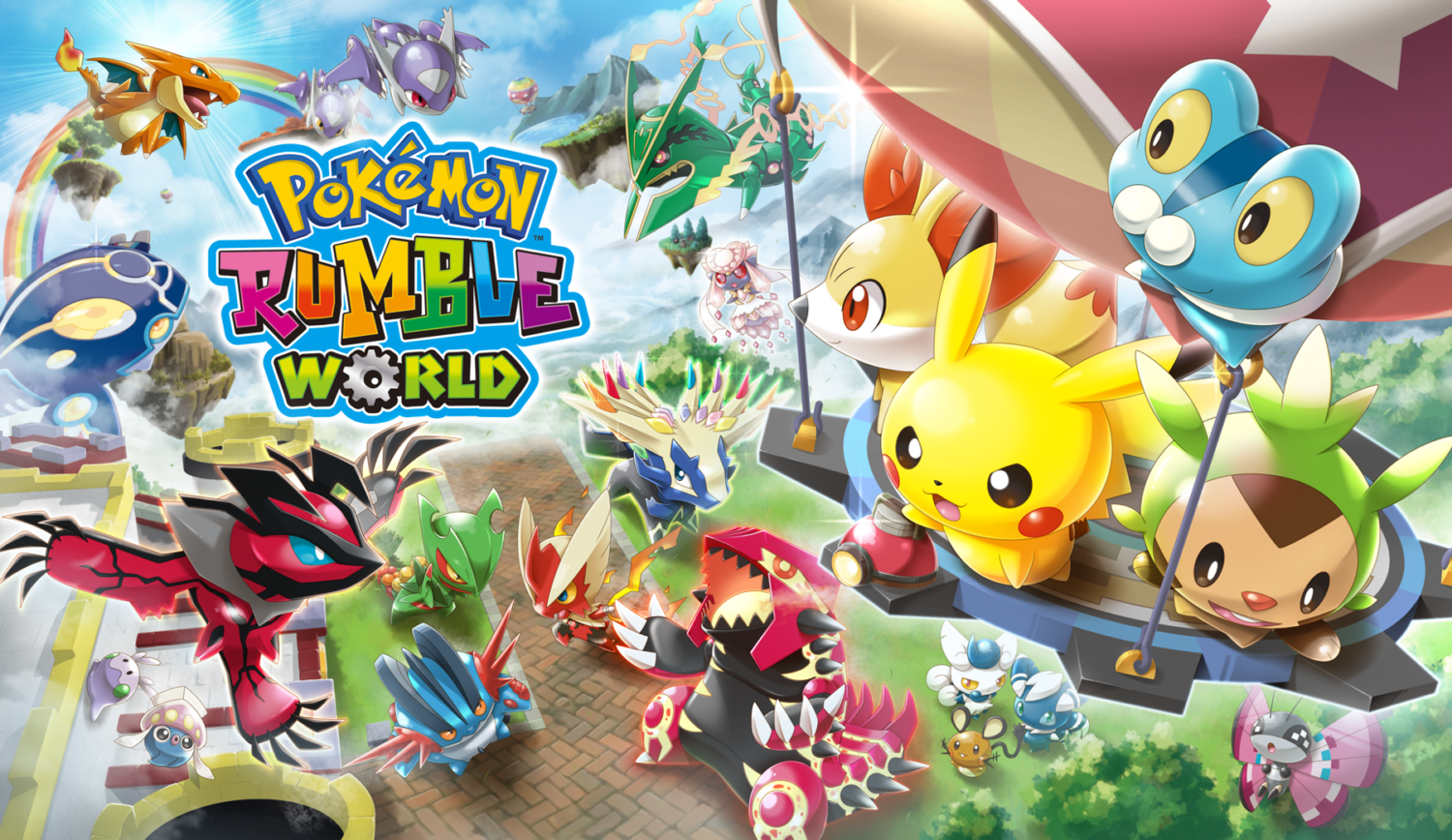 Pokemon Rumble Abbreviation Trademarked For Home Consoles Nintendosoup Tournament Dx Us English Nintendo Switch
