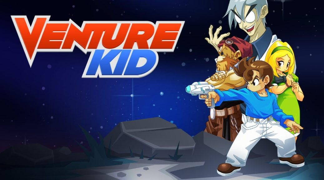 Switch Console Exclusive 'Venture Kid' Launches May 2nd In