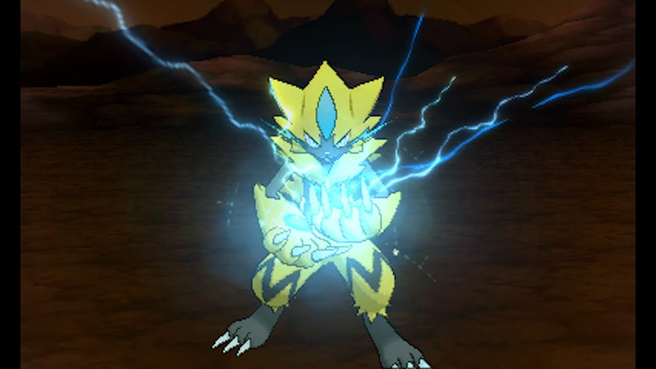 Zeraora S Signature Move Revealed In Pokemon Ultra Sun And