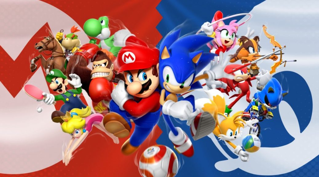mario and sonic are now friends nintendosoup