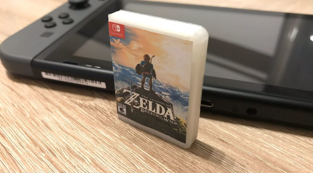 3d print this mini nintendo switch game card case at home nintendosoup