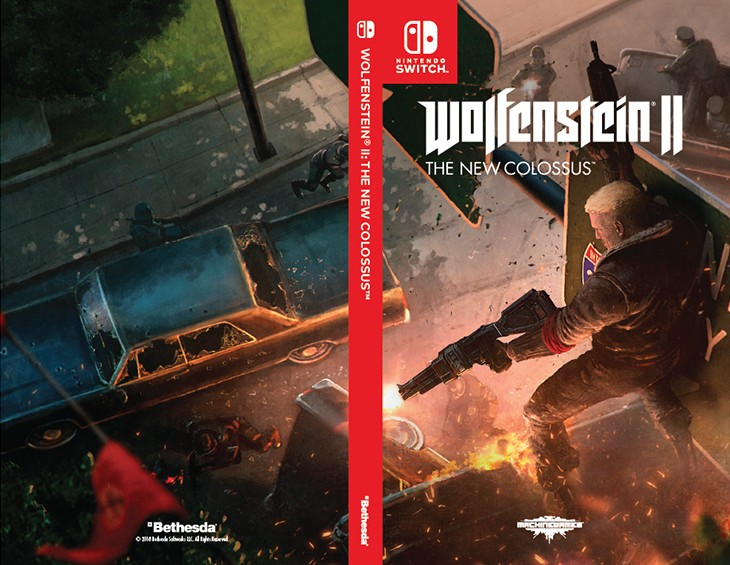 picture relating to Printable Video Game Covers named Bethesda Produces Option Protect Art For Wolfenstein II