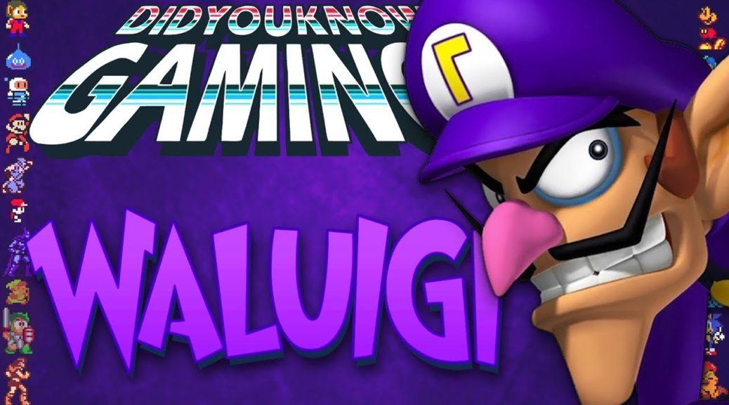 did you know gaming checks out waluigi nintendosoup