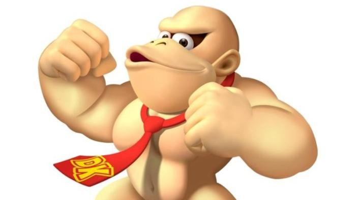 you can t unsee this completely shaved donkey kong nintendosoup