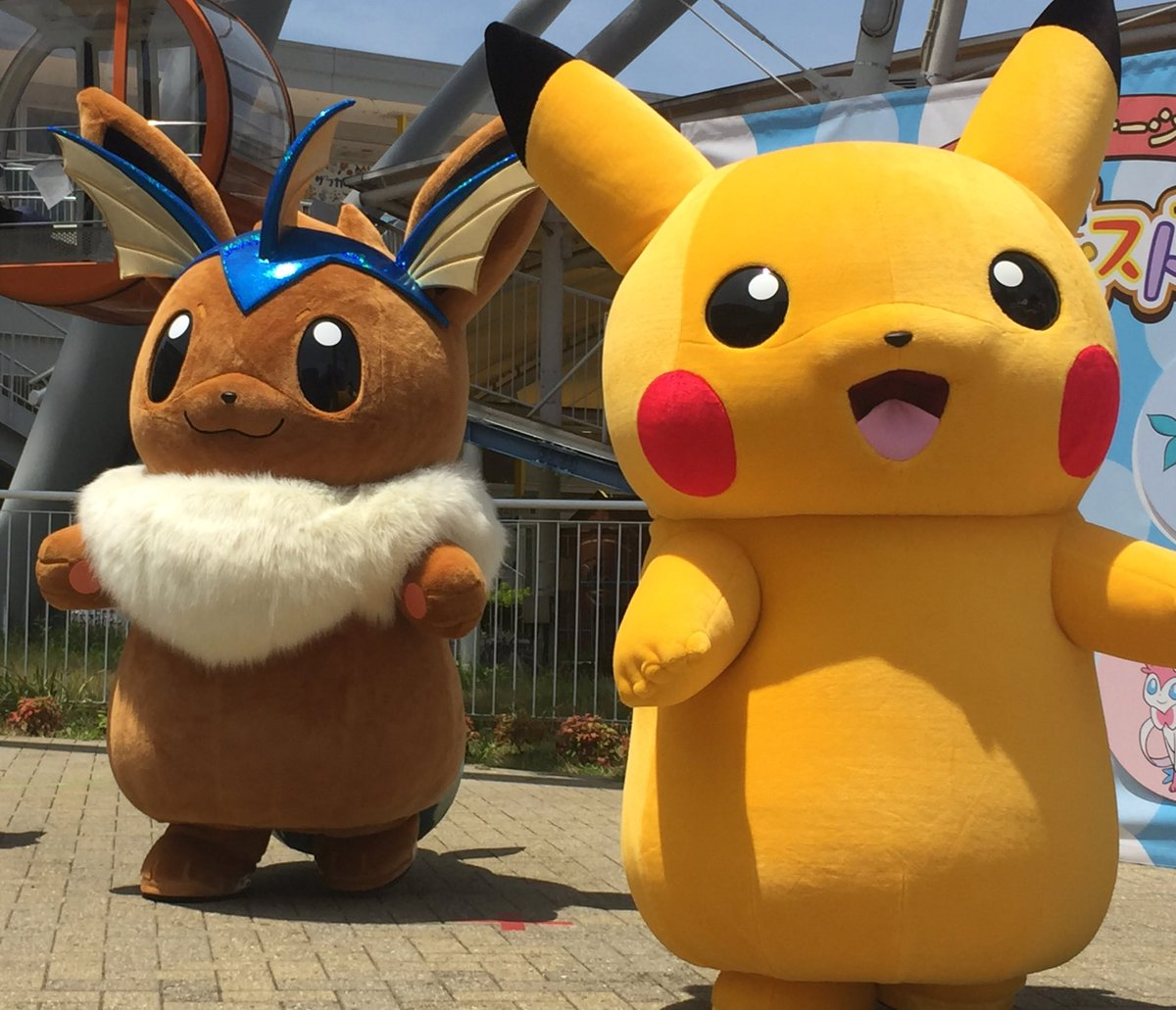 eevee cosplays as its evolutions in japan nintendosoup