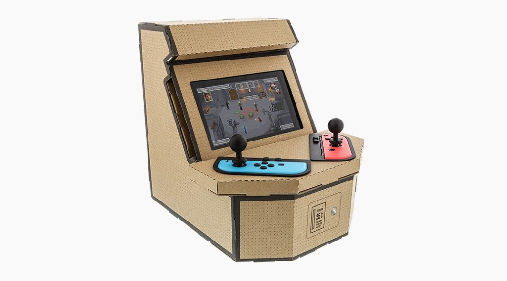 Nyko Is Releasing A Nintendo Switch Arcade Kit That S Similar To