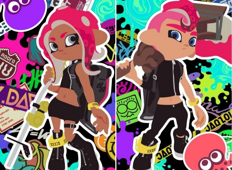 check out the new splatoon 2 octoling wallpapers for your smartphone