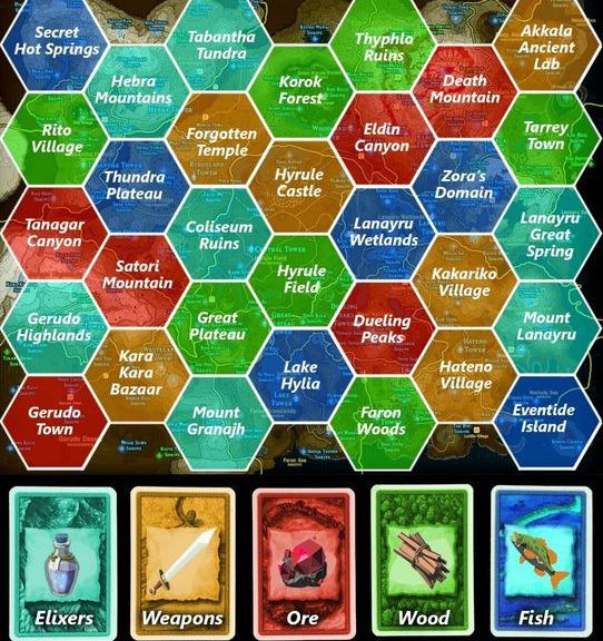 Settlers Of Catan Gets Fan Made Breath Of The Wild Re Skin