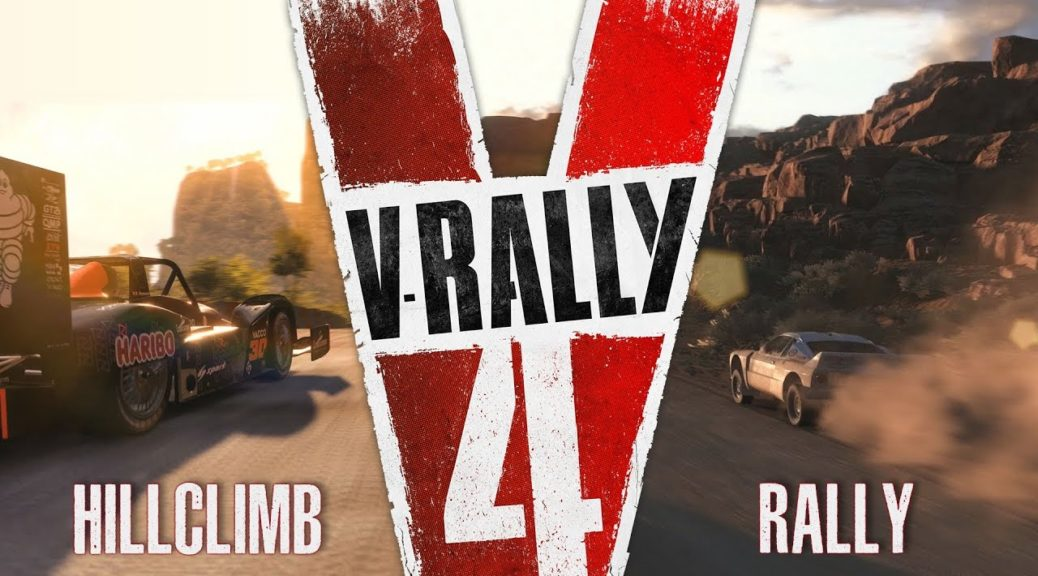 check out v rally 4 39 s rally and hillclimb trailer. Black Bedroom Furniture Sets. Home Design Ideas