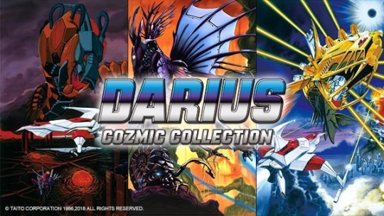 Darius Cozmic Collection Announced For Nintendo Switch Nintendosoup