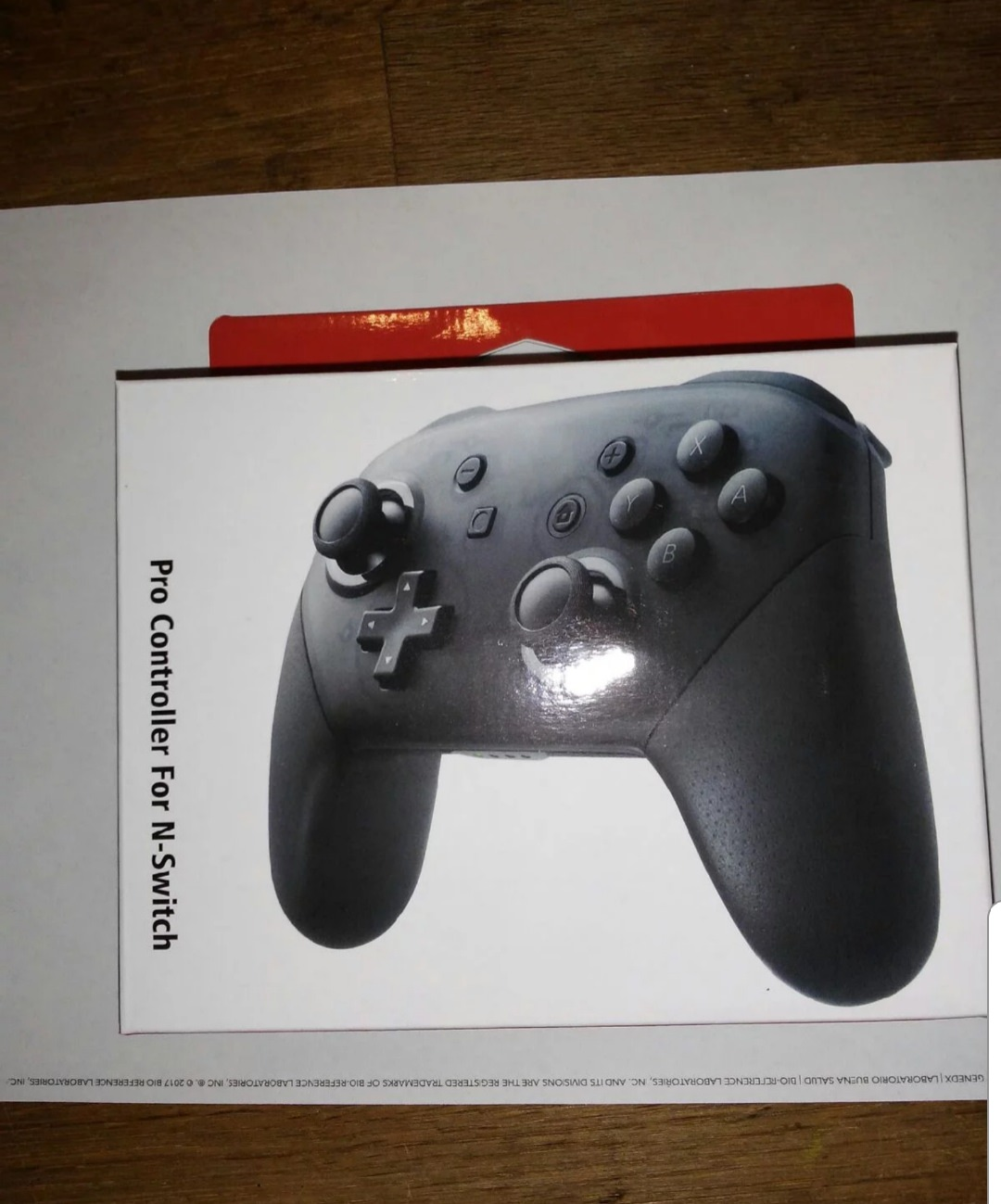 Heres How The Fake Switch Pro Controller Packaging Looks Like 5 Way Joystick As You Can Probably Tell Is Missing Official Nintendo Logo And Many Other Differences So Thats One To