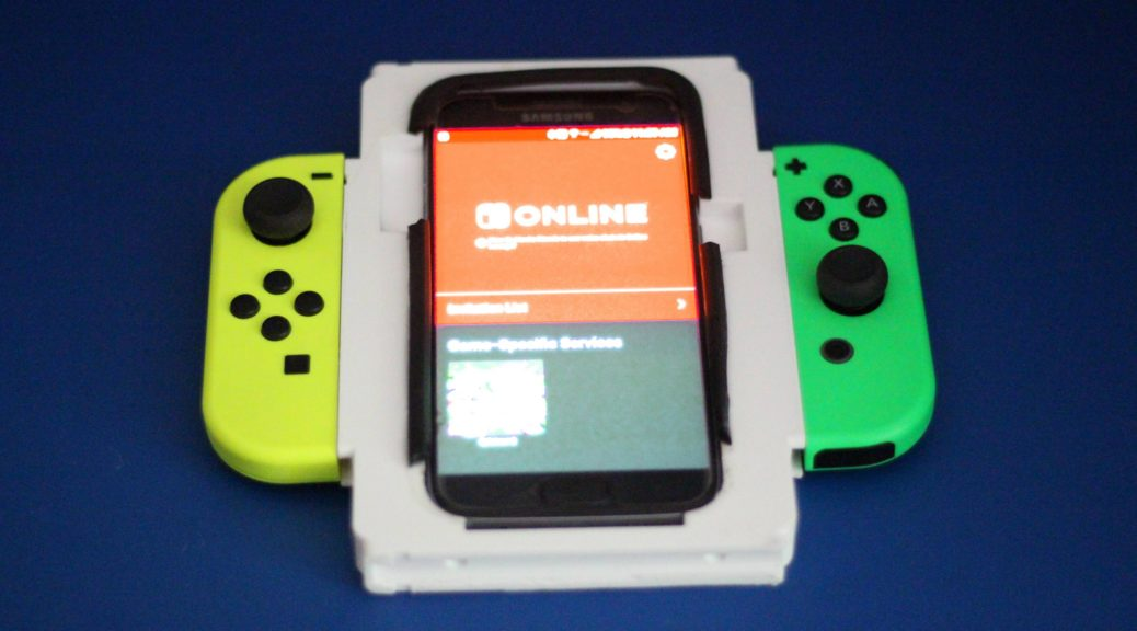 Check Out This Cool Multi-Layout Smartphone Joy-Con Grip