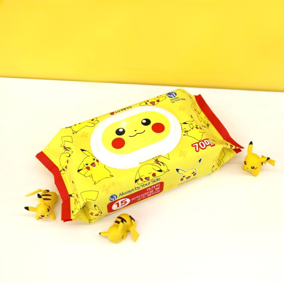Toallitas Pikachu