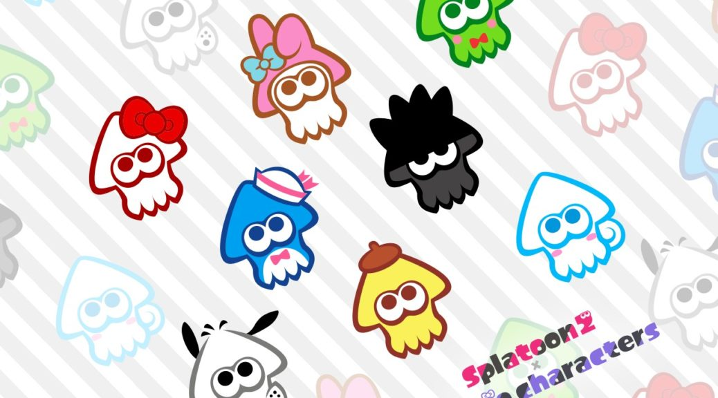 Download This Adorable Splatoon 2 Sanrio Characters